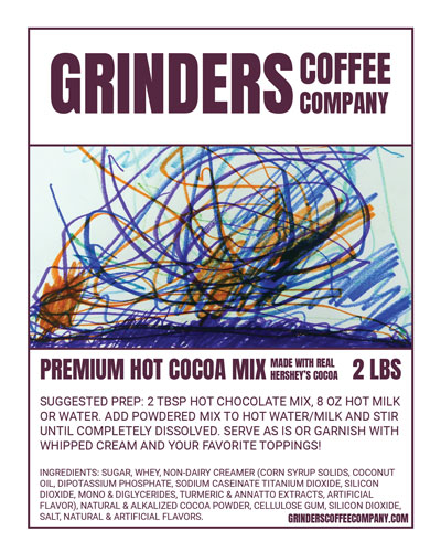 Grinders Coffee Company Hot Cocoa